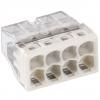 Клемма на 8 проводов 0.5-2.5 мм², с пастой (6 шт) WAGO 2273-248