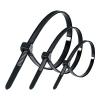 Стяжка кабельная (хомут) 2.5/4.8х100/120/200 мм МИКС (150 шт) черная ZOLDER