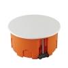 Коробка распределительная (распаячная) СП D80х40 мм микс пластиковые лапки TDM ЕLECTRIC