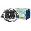 Гирлянда LED СГУ100Б10 (холодный белый свет, 10 м черный шнур, наружное использование) (6500 K, мерц
