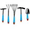 Набор садово-огородный 5шт. (совок широкий, грабельки ручные, грабельки веерные, рыхлитель, мотыга)