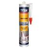 Герметик силиконовый Tytan Professional универсальный прозрачный (280 мл)
