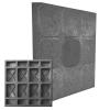 Плитка тротуарная Кубик-рубик 27х330х330 мм серая
