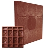 Плитка тротуарная Кубик-рубик 27х330х330 мм красная