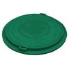 Люк полимерно-песчаный тип Д d-760 мм 1 т зеленый Лаатта