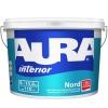 Краска высокоукрывистая для стен и потолков AURA Interior Nord супербелая 4.5 л
