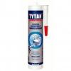 Герметик TYTAN Professional  силикон санитарный бесцветный 280 мл
