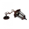 Светильник садовый подвесной НСУ 06-60-001 Адель 1 60 Вт черный под бронзу