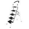 Стремянка стальная СИБИРЯЧКА (5 ступеней) усиленные ножки