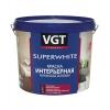Краска влагостойкая интерьерная VGT ВД-АК-2180 белая 7 кг