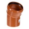 Отвод для наружной канализации 110/15*