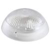 Светильник НБП 06-60-101 Сириус d220 мм белый круг 60 Вт с фото-шумовым датчиком