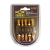 Набор двусторонних бит №1 (25 мм, 5 шт) с насечками Nox TITAN 556907