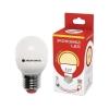 Лампа светодиодная LED GL45 9 Вт E27 шар 3000 K теплый свет ЭКОНОМКА