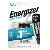 Эл-т питания Energizer LR6 BP2 Max Plus