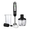 Блендер DELTA LUX DL-7039 В 800 Вт, режим Турбо, измельчитель, стакан, черный