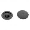 Заглушка №2 под шуруп 11 мм черная (50 шт)