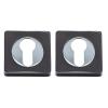 Накладка дверная A52-CL BN/CP (черный никель/хром) MARLOK