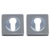 Накладка дверная A52-CL SN/CP (никель/хром) MARLOK