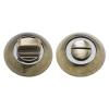 Ручка поворотная A54-BK AB/CP (бронза/хром) MARLOK