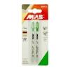 Пилки для электролобзика 100х75 мм по дереву и пластику MPS 3101-2 (2 шт)