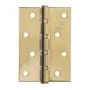 Петля дверная 100х70х2,5 PB (золото) MARLOK