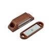 Защёлка магнитная №1 (коричневая)