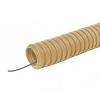 Труба гофрированная ПВХ 16 мм с зондом 25 м ЭКО сосна TDM ЕLECTRIC