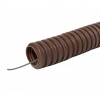 Труба гофрированная ПВХ 20 мм с зондом 25 м ЭКО бук TDM ЕLECTRIC