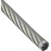 Трос стальной 3/4 мм (20 м) DIN 3055 (в ПВХ оболочке) цинк