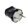 Вилка кабельная черная (6 А) LUX ВР30
