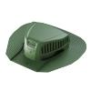 Аэратор точечный для гибкой черепицы Döcke PIE ROOT 435х394 мм зеленый