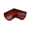 Элемент угловой 90° STANDARD 120 мм (красный)