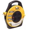 Удлинитель на катушке IEK Garden УК10 (4х10 м, ПВС 2х0.75, с термозащитой)