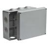Коробка распределительная (распаячная) ОП 200х140х75 мм серая RuVinil 67055