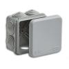 Коробка распределительная (распаячная) ОП 70х70х40 мм серая RuVinil 67030