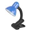 Светильник настольный 40 Вт E27 ЭРА N-102 синий C0041426