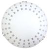 Светильник ДБО 300 LED 15Вт Лучи 5000К мат. бел./клипса штамп металлик инд.упак Элетех 103045031