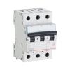Выключатель автоматический модульный 3П С 10А 6 кА TX3 Legrand