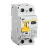 Выключатель автоматический диф. тока 1П+N 2 мод. С 25А 30 мА 6 кА АВДТ32 IEK