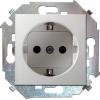 Механизм розетки 1-м СП Simon15 16А IP20 250В с заземл. винт. клеммы бел. Simon 1591432-030