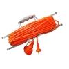 Удлинитель-шнур на рамке UNIVersal УШ-6 оранжевый (1х50 м, ПВС 2х0.75, с крышкой)