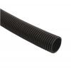 Труба гофрированная ПНД 20 мм с зондом 25 м черная IEK CTG20-20-K02-025-1