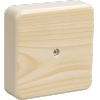 Коробка распределительная (распаячная) ОП 75х75х20 мм сосна КМ41212 IEK