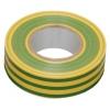 Изолента ПВХ IEK желто-зеленая, 15 мм (20 м)