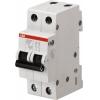 Выключатель автоматический модульный 2П С 16А 4.5 кА SH202L ABB