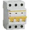 Выключатель автоматический модульный 3П С 16А 4.5 кА ВА47-29 IEK