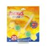 Чистящее средство для унитазов (подвеска) Haus Frau Цитрусовый бриз 1 шт.