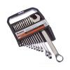 Набор ключей рожково-накидных 12 шт CrV (6-22 мм) Ермак