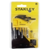 Набор ключей шестигранных 8 шт (1/16-1/4 мм) Stanley